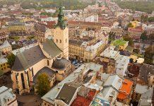 Centrum miasta Lwów - Rynek